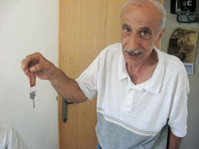 Dad with Key